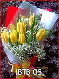 BTB-05-Bunga-tulip-warna-kuning