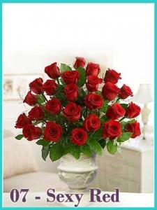 Bunga Valentine 07 Sexy Red