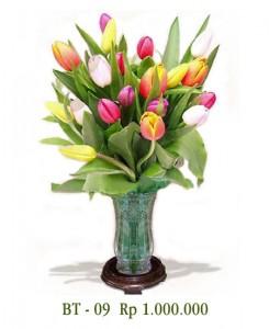 vas-tulip-ungu-kuning-merah-pink-kombinasi