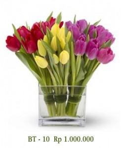 vas-tulip-ungu-kuning-merah