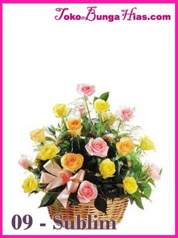 Mawar kombinasi untuk pacar