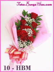 Bunga Valentine 10 HBM