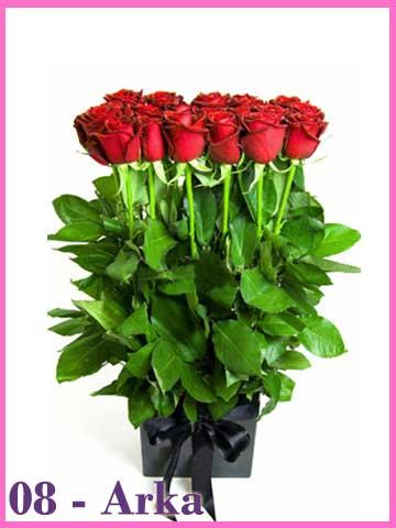 Buket Selusin Mawar Merah Valentine