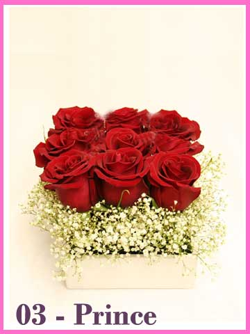 Bunga Mawar Valentine Prince