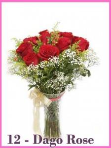 Buket Tangan Mawar Merah Valentine