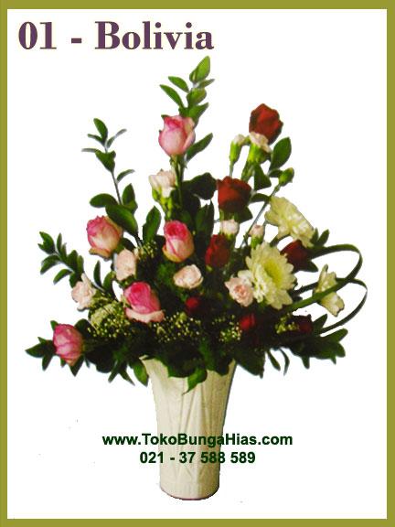 rangkaian bunga eksotik murah