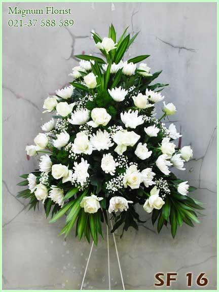 Karangan-Bunga-Mawar-Putih-SF-16