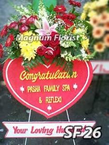 Bunga Ucapan Congratulation Pembukaan Usaha