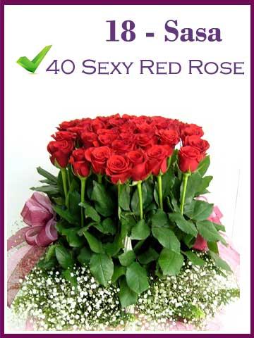 Buket Mawar Merah Premium