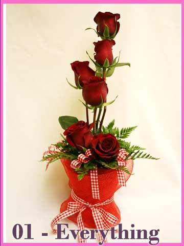 Hadiah Bunga Valentine Day Everything