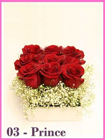 Bunga Mawar Merah Valentine